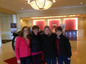 My roommates at the women's retreat, including my mom!