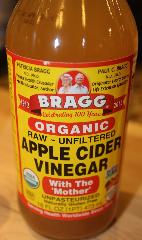 Bragg's Raw Apple Cider Vinegar - this is the one to buy!