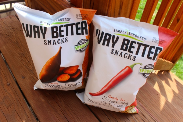 Two of our favorite varieties of Way Better Chips