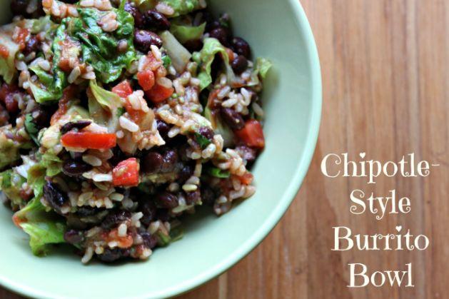 RNK Chipotle Burrito Bowl