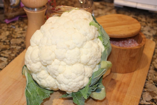 Cauliflower is a cruciferous, anti-cancer rock star vegetable!