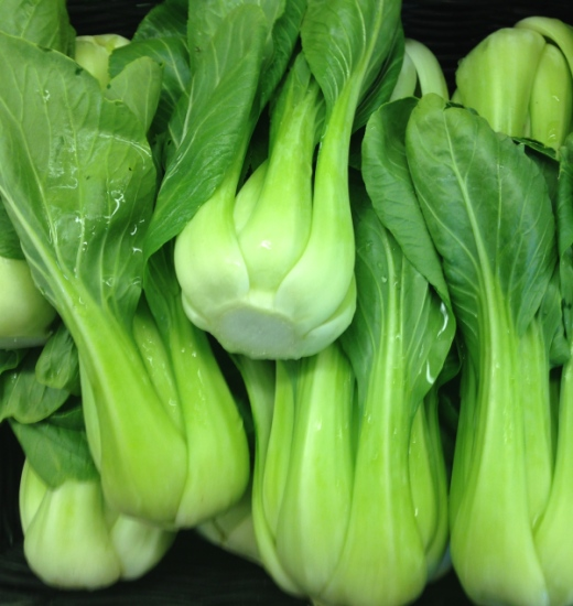 Beautiful, crisp, detoxifying bok choy. A true beauty food!