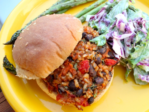 Be bold and try new flavors :) We love this southwest black bean burger!