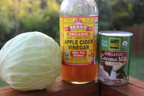 Two of the surprise ingredients in this delicious cole slaw!