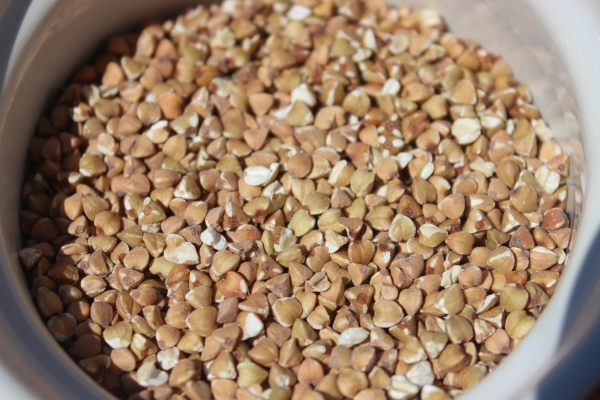 This is what buckwheat looks like! Buy it in the bulk section at a health food store near you.