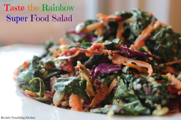 taste the rainbow salad