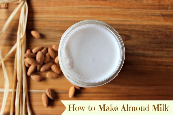 almond milk banner