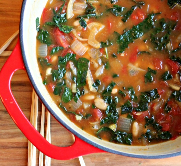 crockpot bean soup