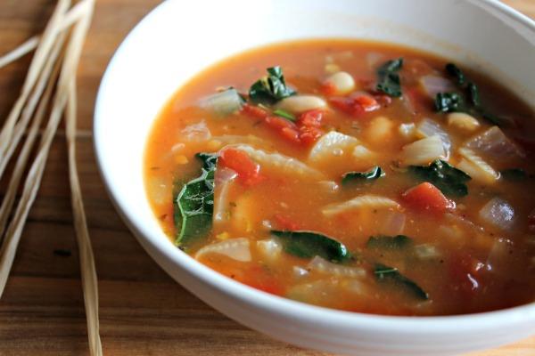 ennel bean soup