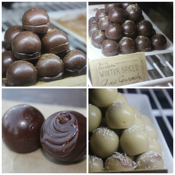 Truffles galore! They're always so creative and decadent.