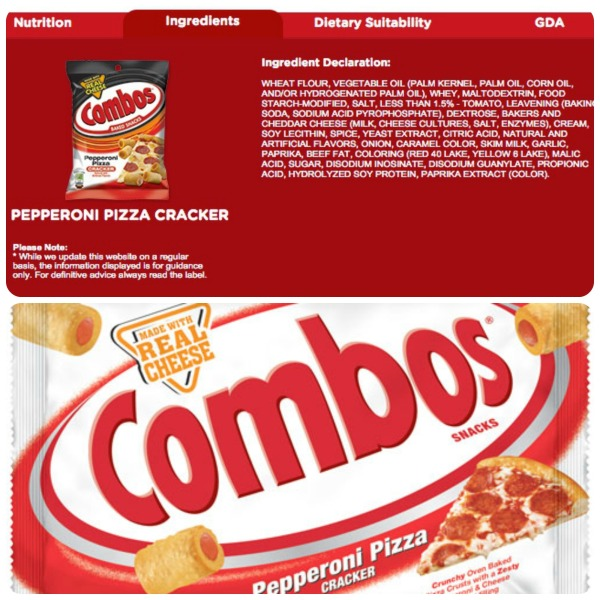 combos info