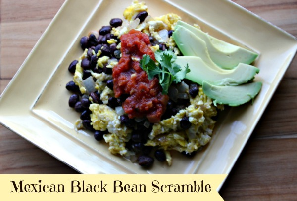 Mexican Black Bean Scramble