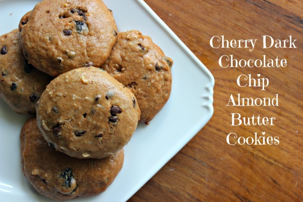 cherry choco chip cookies