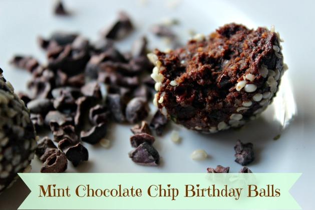 Mint Choco Chip Bday Balls