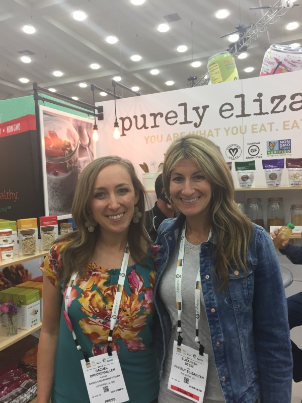 I got to meet Elizabeth behind Purely Elizabeth granola! She's a fellow IIN grad and a rock star!