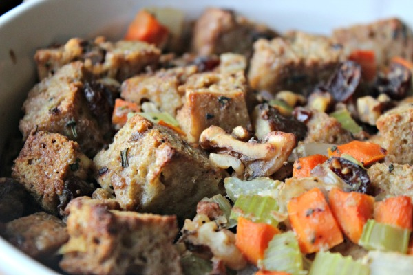Stuffing Closeup