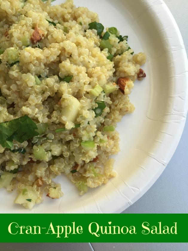 cran apple quinoa salad