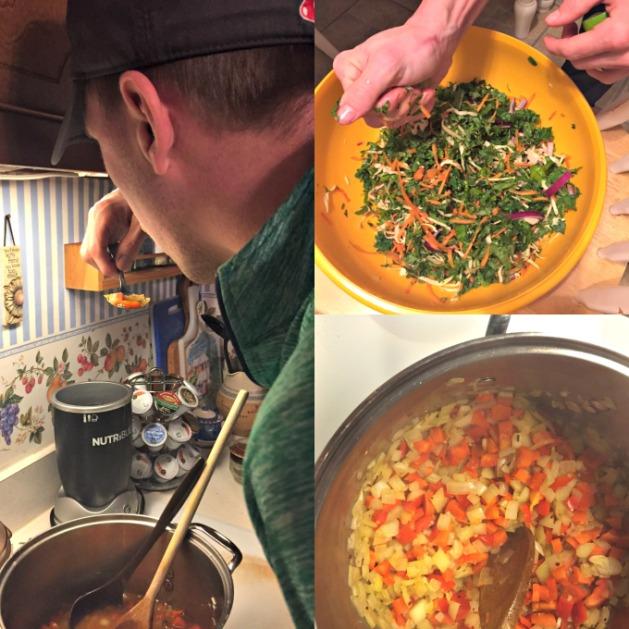 bill tasting soup